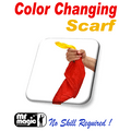 Color Changing Silk Scarf by Mr. Magic - Trick