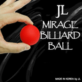 2 Inch Mirage Billiard Balls by JL (RED, single ball only) - Trick