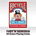 Fast 'N' Genious Deck by So Magic - Trick