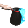 Change Bag Standard (Black with Zipper) by Bazar de Magia - Trick