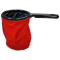 Change Bag Velvet with Zipper (Red) by Bazar de Magia - Trick