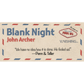 Blank Night (Blue) by John Archer - Trick