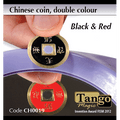 Chinese Coin (CH0019) Black & Red by Tango Magic - Tricks