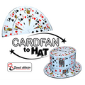 Fan to Hat (Card) by Sumit Chhajer - Trick