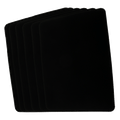 Small Close Up Pad 6 Pack (Black 8 inch  x 12 inch) by Goshman