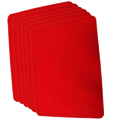 Small Close Up Pad 6 Pack (Red 8 inch  x 10 inch) by Goshman - Trick