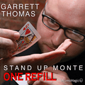 Refill for Stand Up Monte Jumbo Index by Garrett Thomas & Kozmomagic - Trick