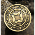 Half Dollar Coin (Bronze) by Mechanic Industries - Trick