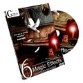 Six (All Gimicks plus DVD) by Mickael Chatelain - Trick