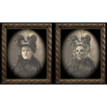 Changing Portrait - Aunt Tilly (8x10) by Eddie Allen - Trick