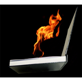FIRE BOOK (Hot Book) by Premium Magic - Trick