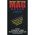 Magnetic Cards (2 pack/Red) by Chazpro Magic. - Trick