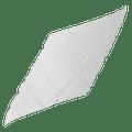 Diamond Cut Silk 36 inch (WHITE) by Magic by Gosh - Trick