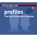 Profiles: The Social Mentalism Routine (DVD and Gimmick) by World Magic Shop - DVD