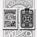 Tally Ho Reverse Fan back (White) Limited Ed. by  Aloy Studios / USPCC