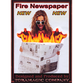 Fire Newspaper by Tora Magic - Trick