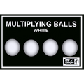 Multiplying Balls (White  Plastic) by Mr. Magic - Trick