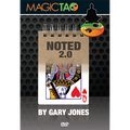 Noted 2.0 Blue (DVD and Gimmick) by Gary Jones and Magic Tao - DVD