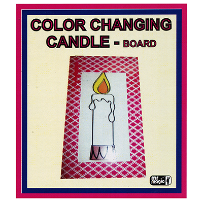 Color Changing Candle by Mr  Magic - Trick - Big Guy's Magic
