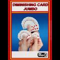 Diminishing Cards (Jumbo) by Mr. Magic - Trick