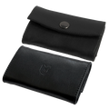 LEATHER COIN PURSE (Holds Six  Dollar Coins) by UnderMagic - Trick
