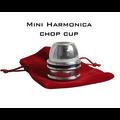 Mini Harmonica Chop Cup (Aluminum) by Leo Smetsers - Trick