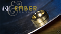 Ash and Ember Gold Beveled Size 9 (2 Rings) by Zach Heath  - Trick