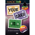 Your Card Is (DVD and Gimmick) by Grant Maidment and Magic Tao - DVD