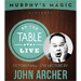 At the Table Live Lecture - John Archer 10/1/2014 - video DOWNLOAD