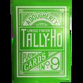 Tally Ho Reverse Circle back (Green) Limited Ed. by Aloy Studios / USPCC