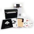 Yu Ho Jin manipulation cards (white) by Yu Ho Jin - Trick