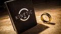 Kinetic PK Ring (Gold) Beveled size 10 by Jim Trainer - Trick