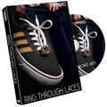 Ring Through Laces (Gimmicks and instruction) by Smagic Productions - Trick