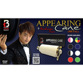 Appearing Cane (Metal / Red & White) by Handsome Criss and Taiwan Ben Magic - Trick