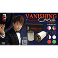 Vanishing Cane (Metal / Black & White Stripes) by Handsome Criss and Taiwan Ben Magic - Tricks