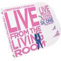 Live From The Living Room 3-DVD Set starring Christopher T. Magician - DVD