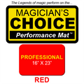 Professional Close-Up Mat (Red - 16x23) by Ronjo - Trick