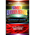 Joe Rindfleisch's Rainbow Rubber Bands (Joe Rindfleisch - Red Pack) by Joe Rindfleisch - Trick