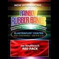 Joe Rindfleisch's Rainbow Rubber Bands (Joe Rindfleisch - Red Pack) by Joe Rindfleisch - Trick