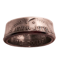 Genuine Half-Dollar Ring (8.5/18.53 mm)By Diamond Jim Tyler - Trick