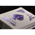 Bicycle Rider Back Cobalt Luxe (Blue) by US Playing Card Co
