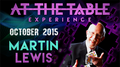 At the Table Live Lecture Martin Lewis October 21st 2015 video DOWNLOAD