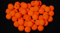Noses 1.5 inch (Orange) Bag of 50 from Magic by Gosh