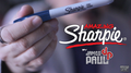 Amazing Sharpie Pen (Blue) by James Paul - Trick