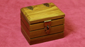 Watch Box by (Teak) by Mr. Magic - Trick