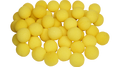 1 inch Super Soft Sponge Ball (Yellow) Bag of 50 from Magic By Gosh