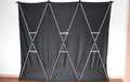 Lightweight Stage Curtain (Black) by Nahuel Oliveria - Trick
