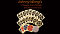 Johnny Wong's Chinese Coin Sticker 20 pcs (Eisenhower Dollar Size) - Trick