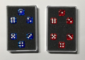 Perfect Prediction Dice Blue (6 Dice) by Kreis - Trick