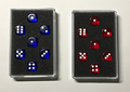 Prediction Gimmicked Dice Blue (7 Dice) by Kreis - Trick